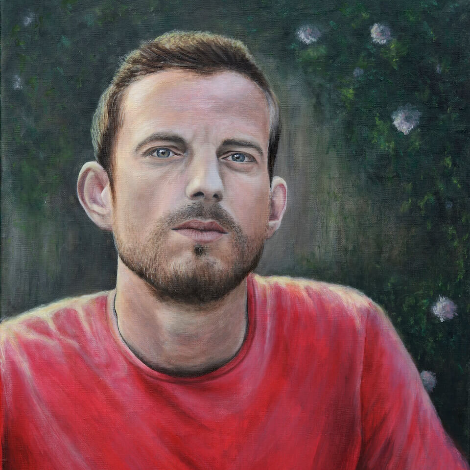 Wesley Korsuize - oil painting